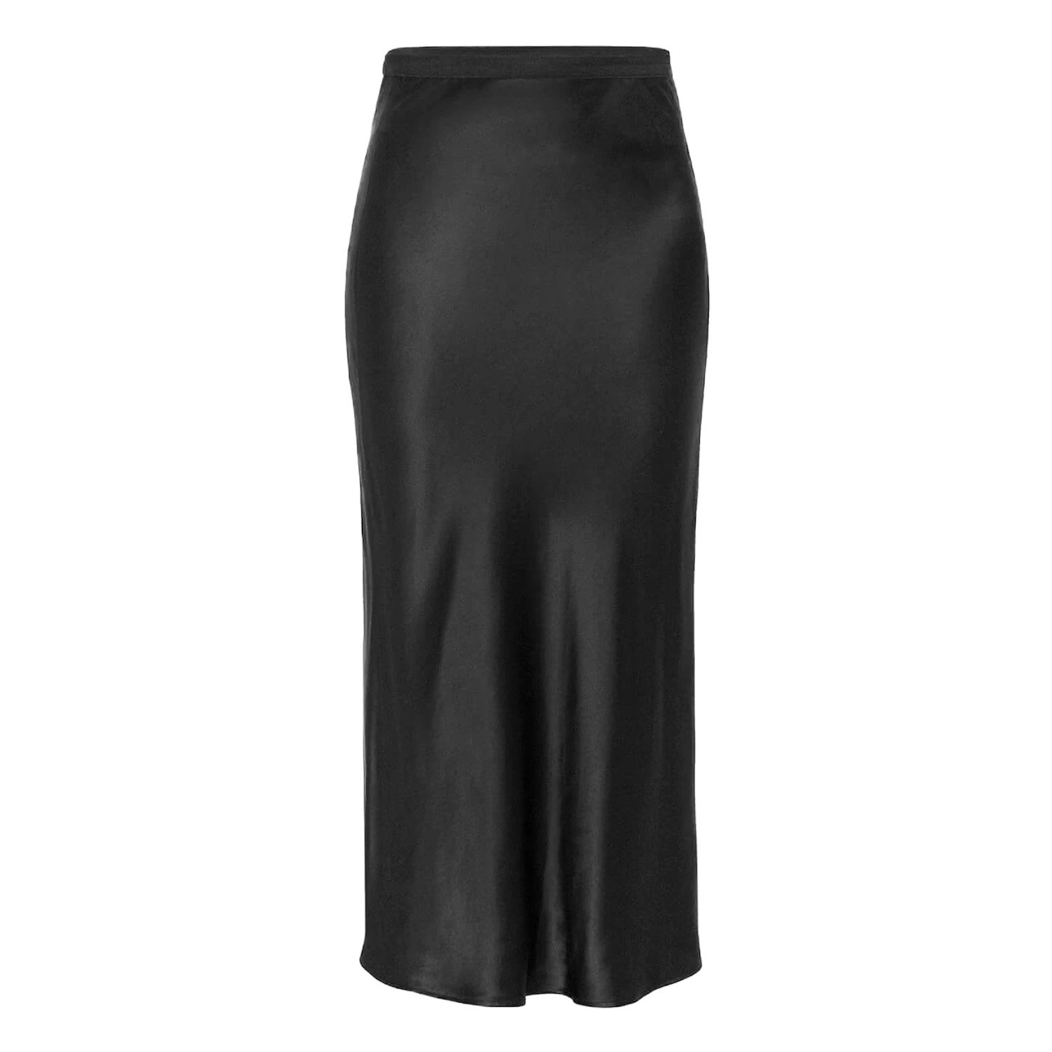 Anine Bing Black Slip Skirt