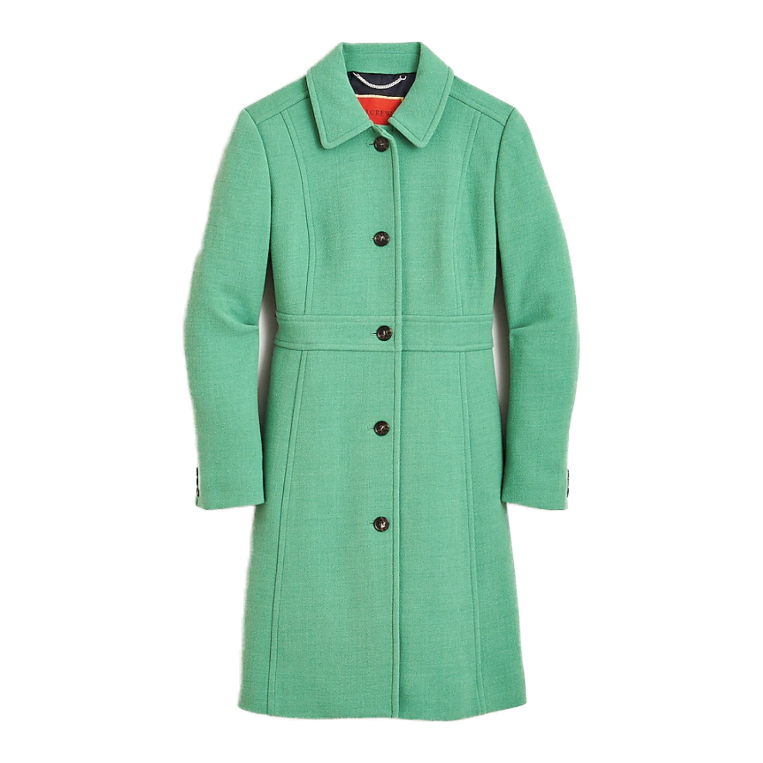 J.Crew Green Wool Coat