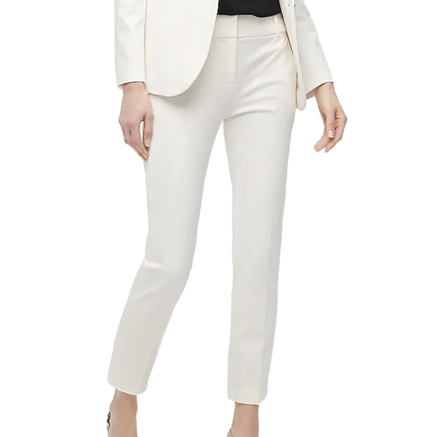 J.Crew White Cotton Pants