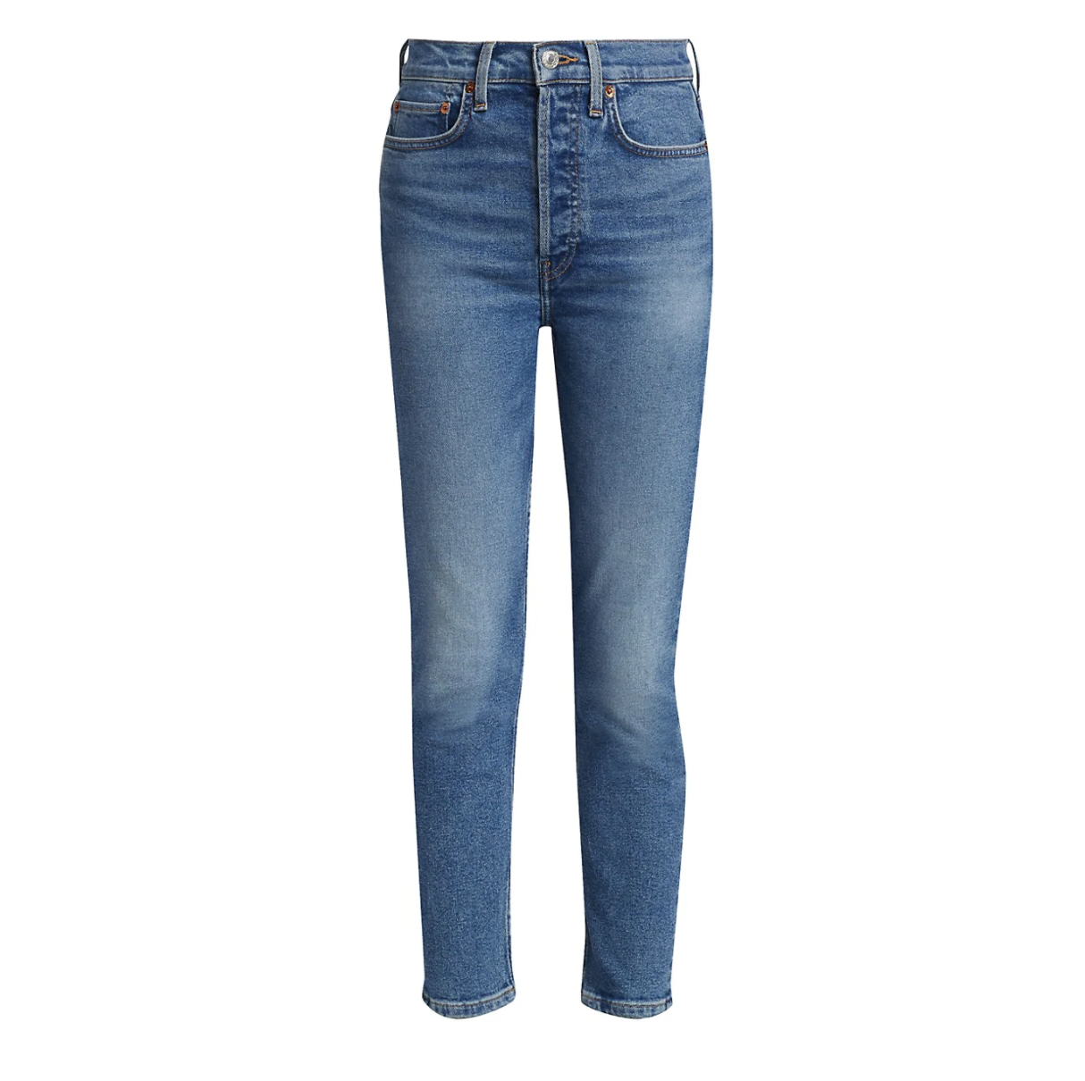 Re/Done Blue Skinny Jeans