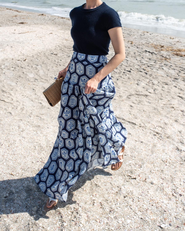 Stacie Flinner Agua by Agua Benedita Maxi Skirt