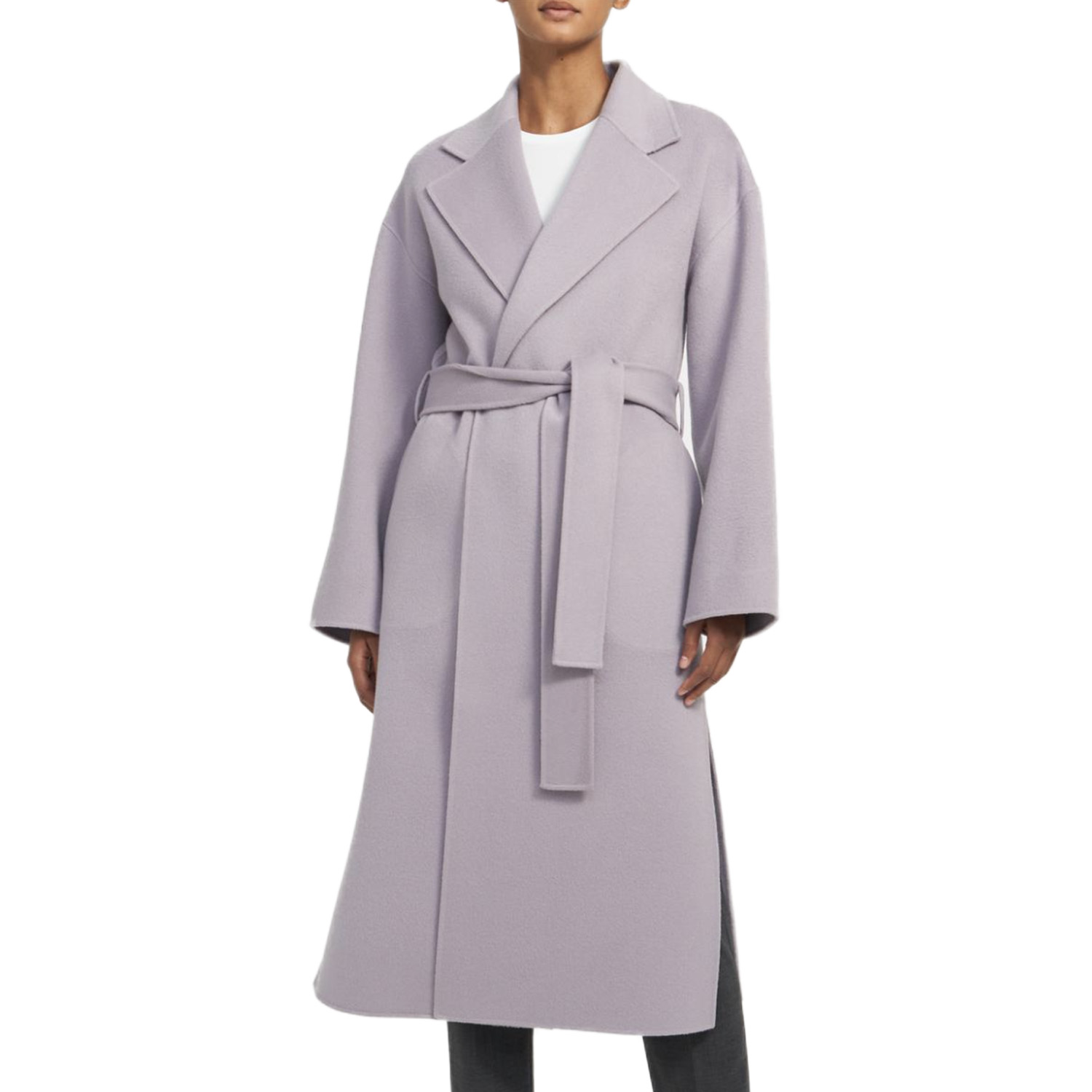Theory Lavender Coat