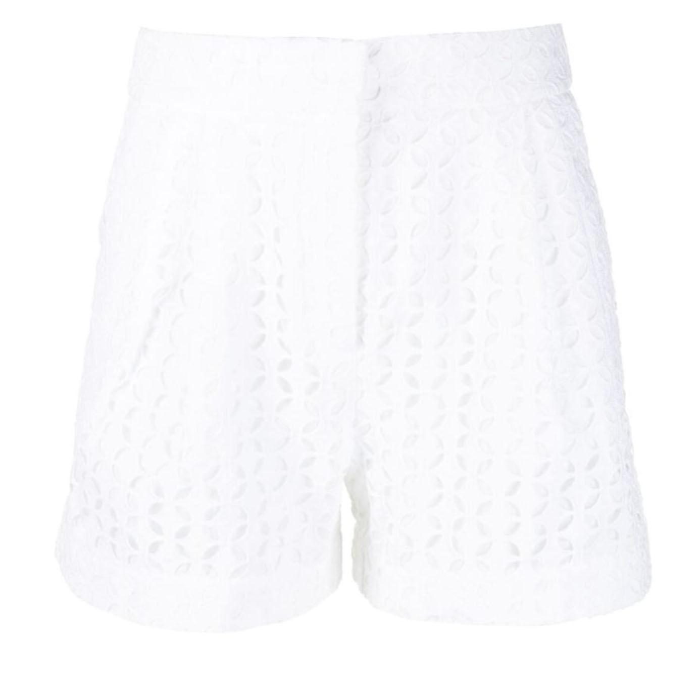 Michael Kors White Eyelet Shorts