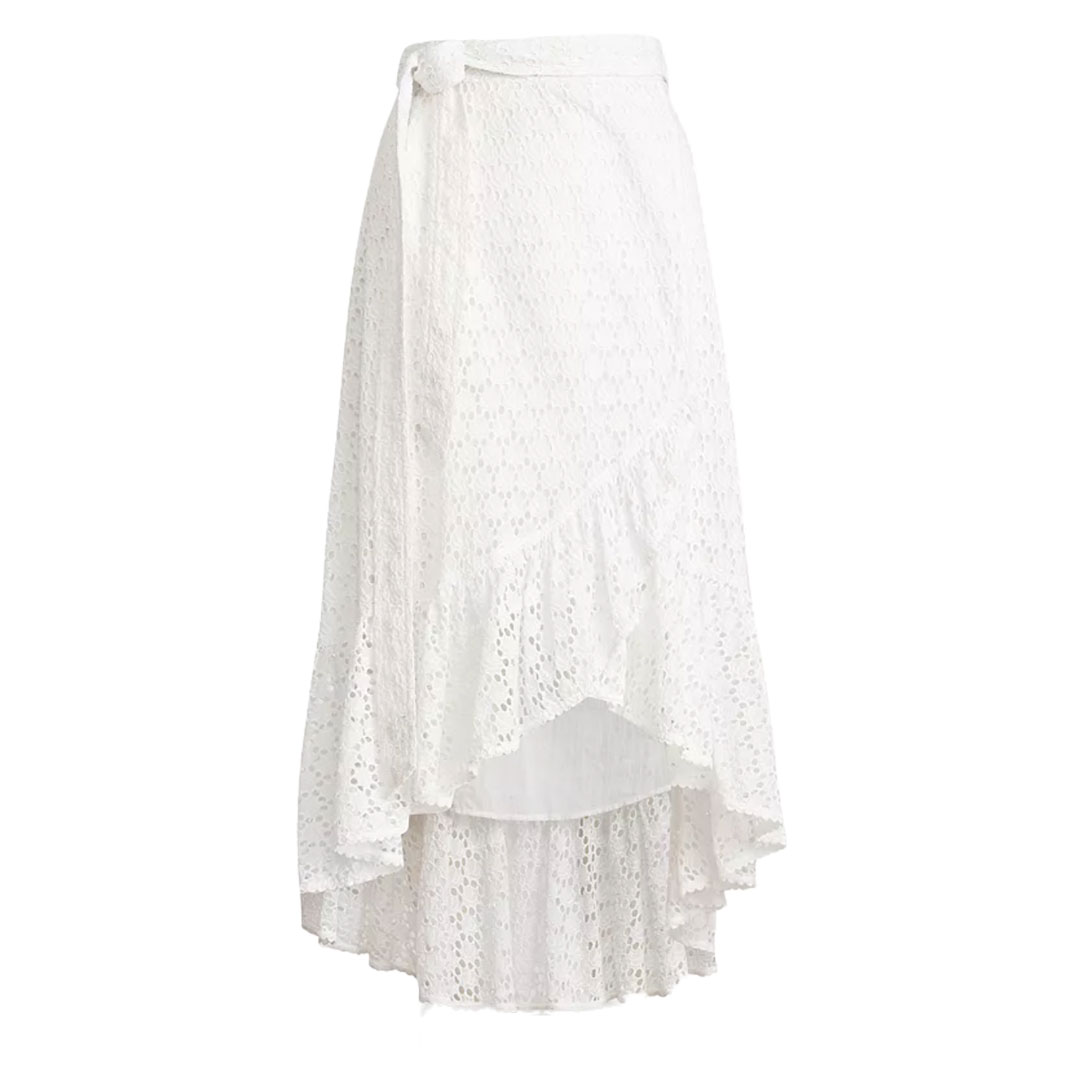 Ralph Lauren White Eyelet Skirt
