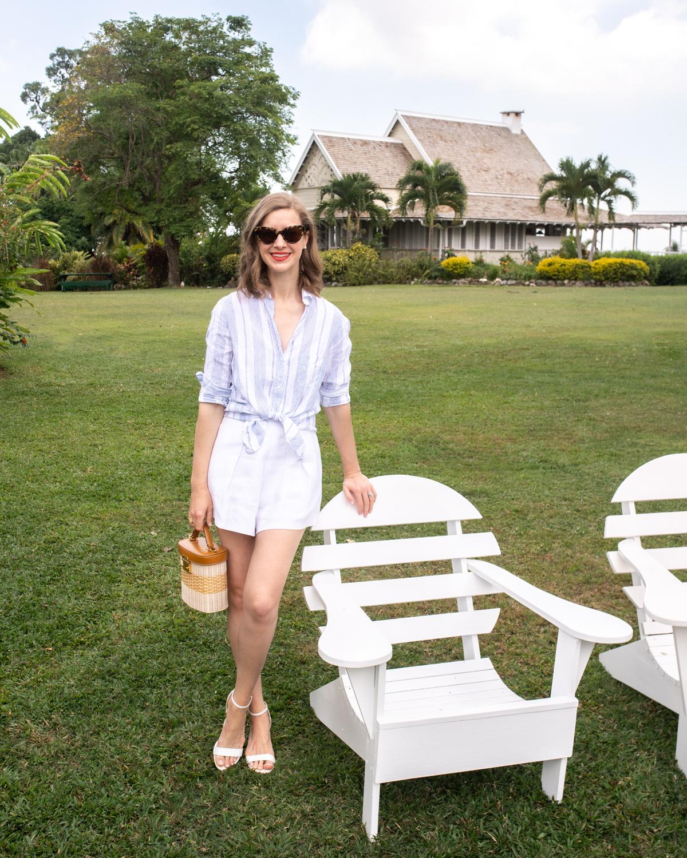 Stacie Flinner Grayson Linen Shirt