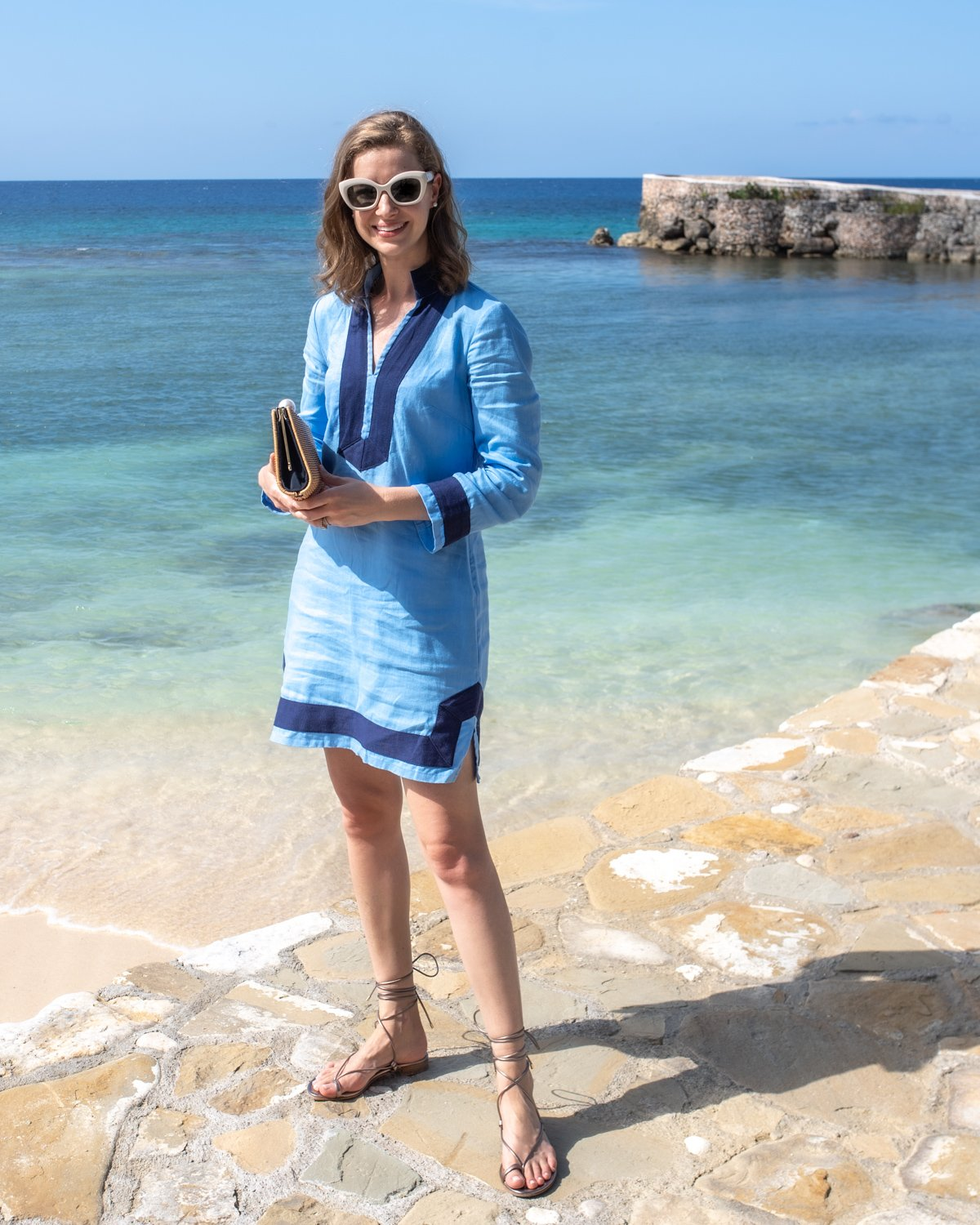 Stacie Flinner Sail to Sable Tunic