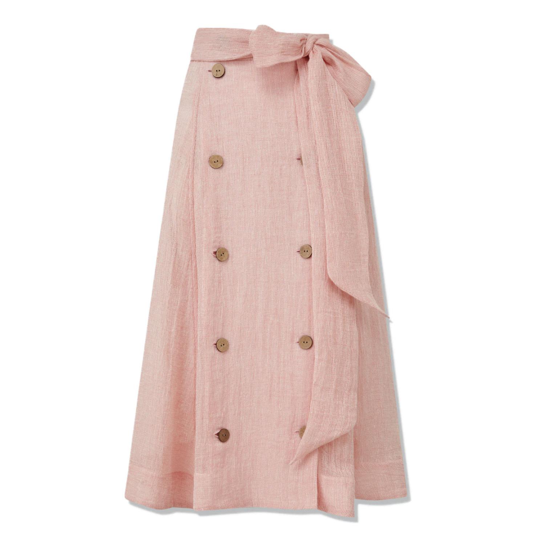 Lisa Marie Fernandez Pink Skirt