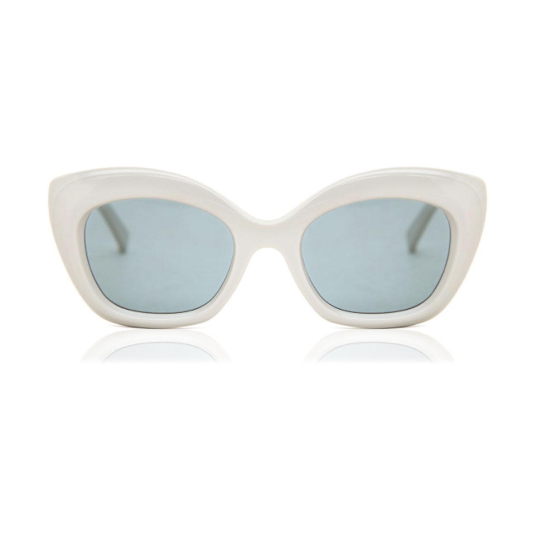 Max Mara White Sunglasses