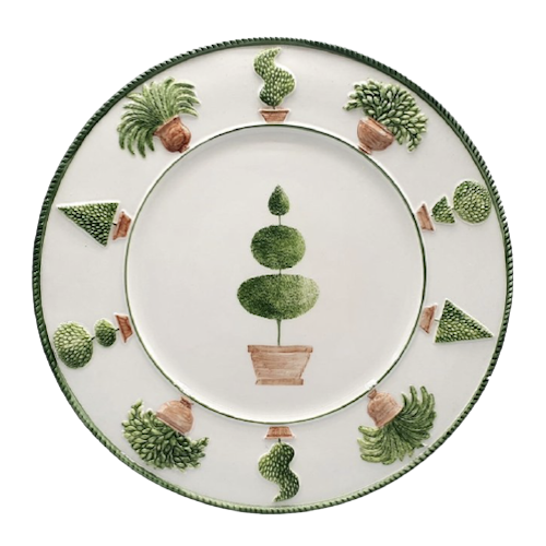 Topiary Plate