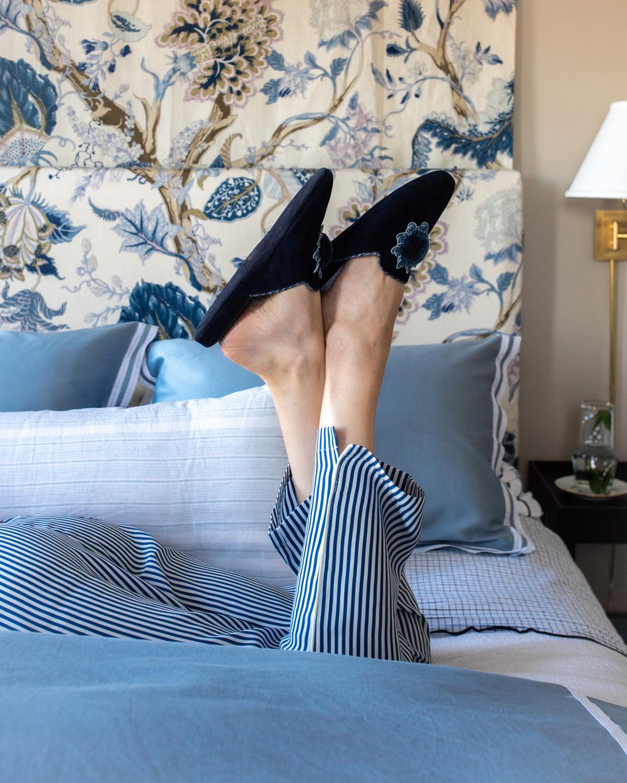 Stacie Flinner Daily Look Sleepy Jones Pajamas