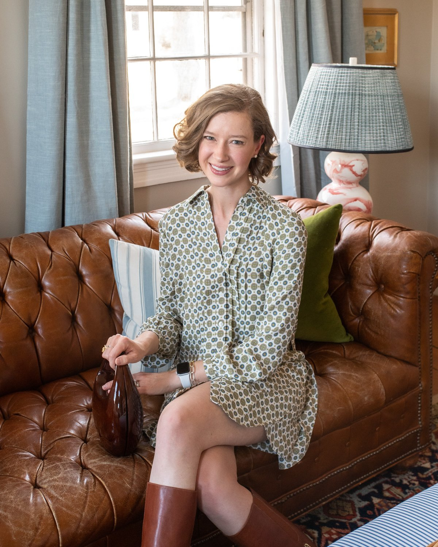 Stacie Flinner Daily Look Tory Burch Dress