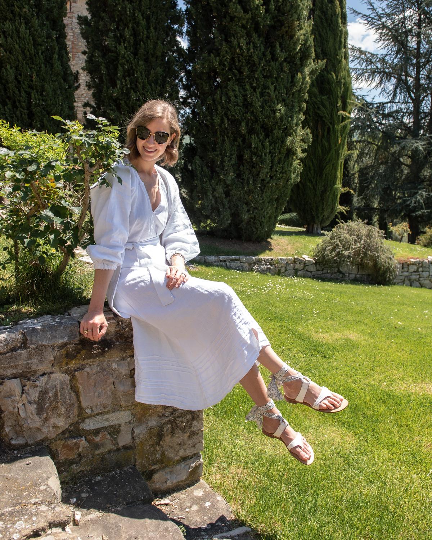Stacie Flinner Daily Look Heidi Wynne Linen Dress