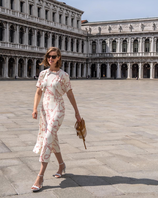 Stacie Flinner Daily Look Victoria Beckham Dress