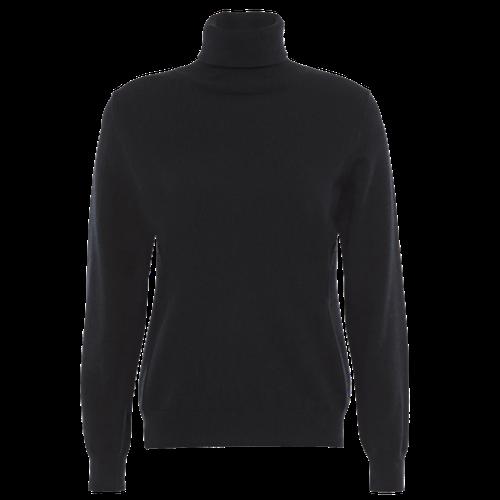 Black Cashmere Turtleneck
