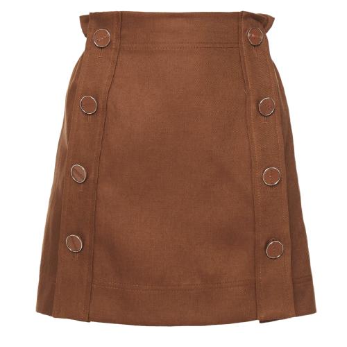 Pucci Brown Mini Skirt