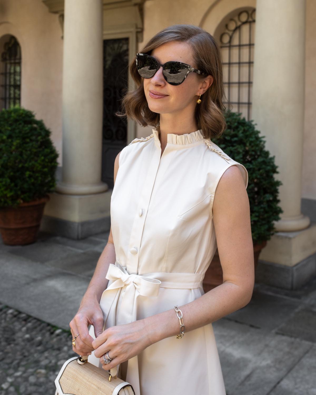 Stacie Flinner Daily Look Cream Cherrie Dress