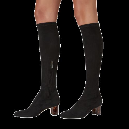 Sarah Flint Alexandra Black Suede Boot