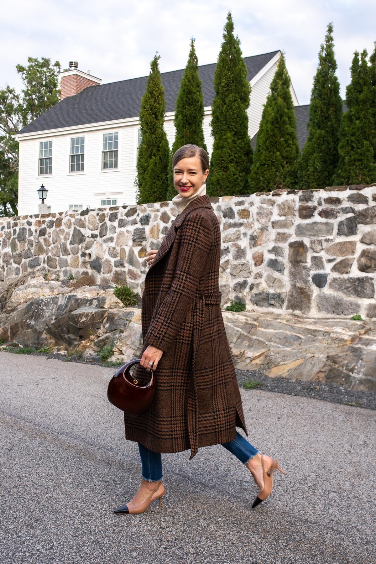 Stacie Flinner x Farfetch Plaid Wrap Coat-3.jpg