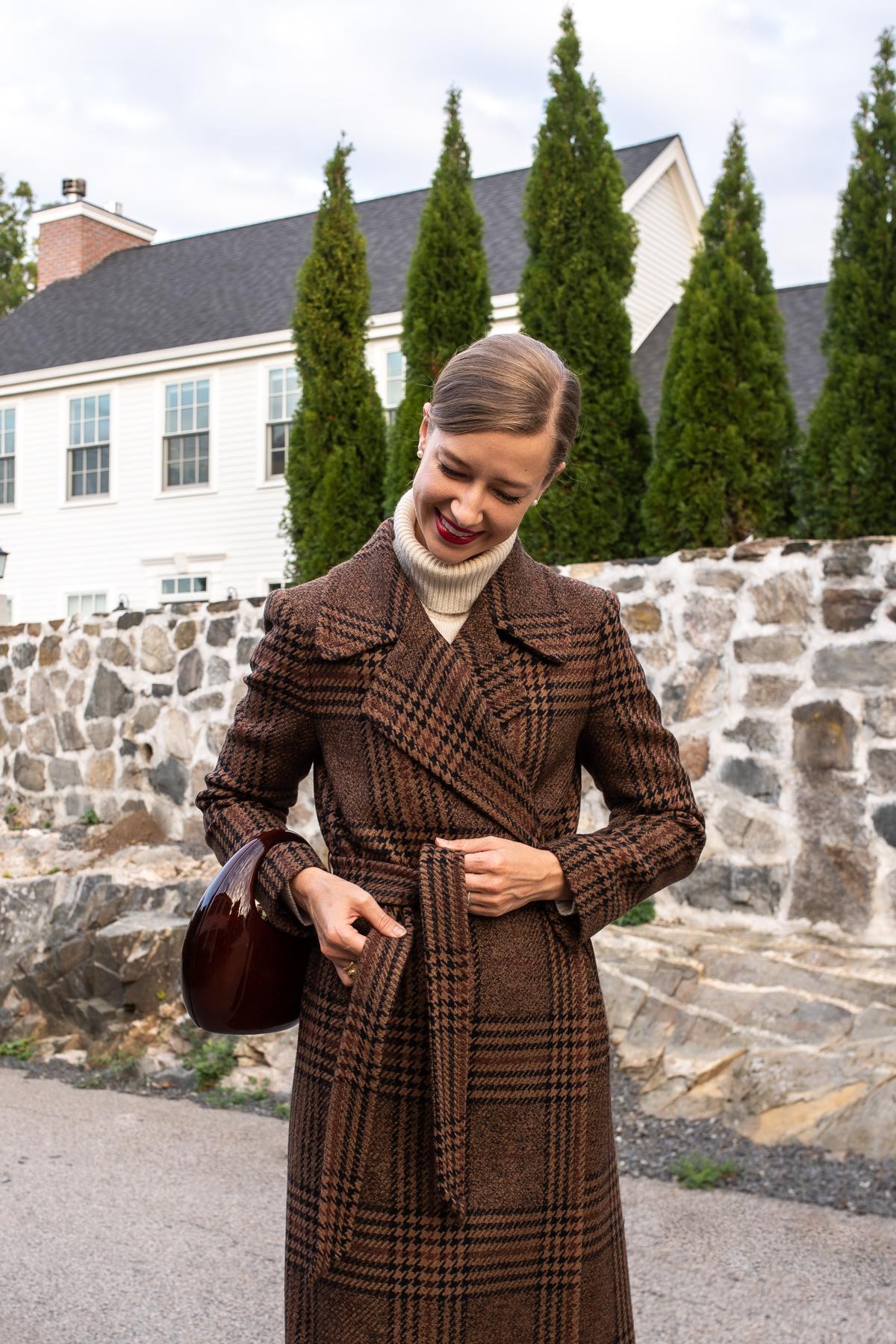 Stacie Flinner x Farfetch Plaid Wrap Coat-7.jpg